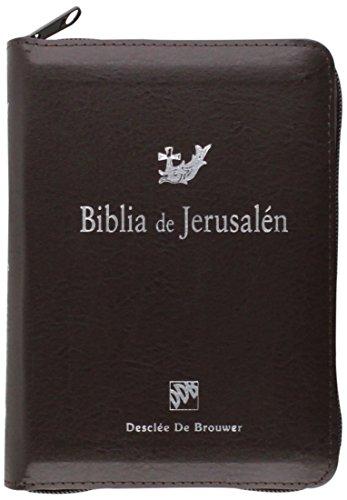 Biblia De Jerusalen Bol. Mod 3 Cremallera (Biblia de Jerusalén) por Escuela Biblica De Jerusalen