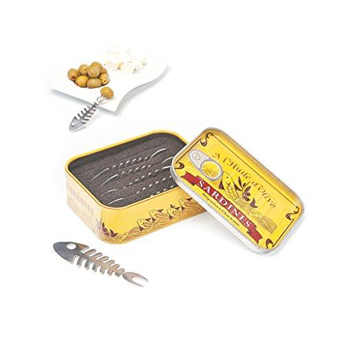 Balvi - Tenedor aperitivo Sardines x6 lata