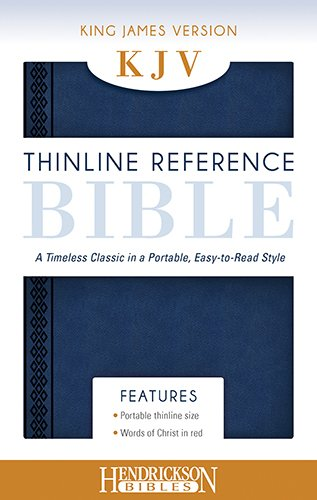 Thinline Reference Bible-KJV Cover Image