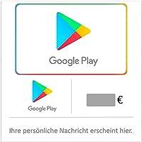 Google Play Gutscheincode (DE) - Gutschein per E-Mail