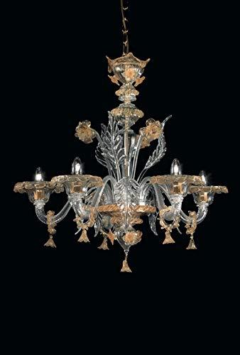 Amleto lampadario in vetro di murano - amleto murano chandelier classe energetica