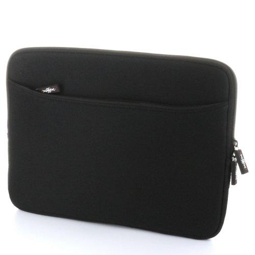 XIRRIX case bolsa funda di neopreno universal con compartimiento adicional en negro...
