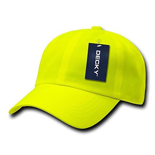Decky Baseball-Kappe, 6-teilig, Neon Gelb gelb Nicht zutreffend