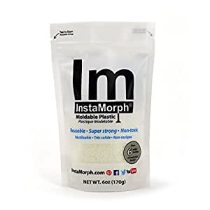 InstaMorph - Moldable Plastic - 6 oz