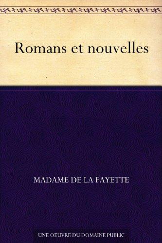 Couverture du livre Romans et nouvelles