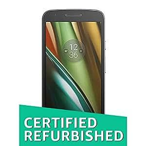 (Certified REFURBISHED) Motorola Moto E3 Power (Black, 16GB)