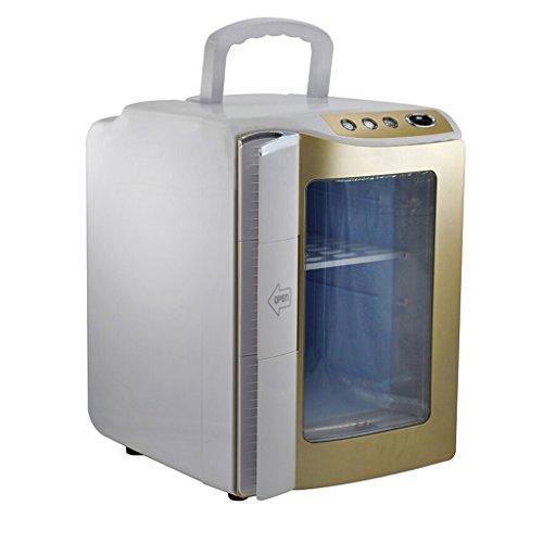 Peaceip 20L Voiture Réfrigérateur De Voiture À Double Usage Mini Réfrigérateur Portable Chauffage Lait Du Sein Réfrigéré Chauffage Et Refroidissement Boîte Bureau Maison