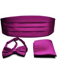 Pensee Hombre Kummer cintura, Monótono Color Rosa Fucsia