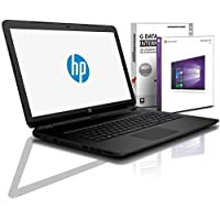 HP (15,6 Zoll) Notebook (Intel N4000, 2.6 GHz, 8GB DDR4, 256GB SSD, DVD±RW, Radeon R4, HDMI, Webcam, Bluetooth, USB 3.0, WLAN, MS Office, Windows 10 Prof. 64 Bit) #6102