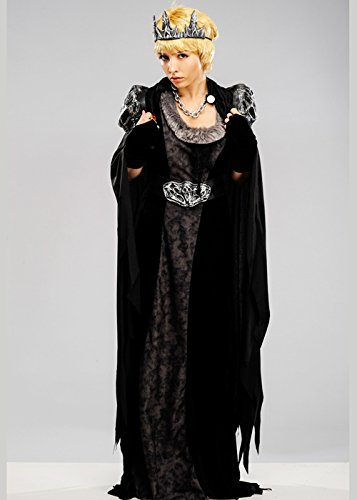 Womens Cersei Lannister Style Gothic Queen Kostüm Small (UK 8-10)
