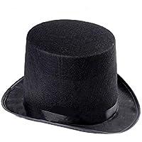 Sunbohljfjh Sombrero de Copa Sombrero de Mago Fiesta Sombrero Traje Magia Prop 55 * 13cm
