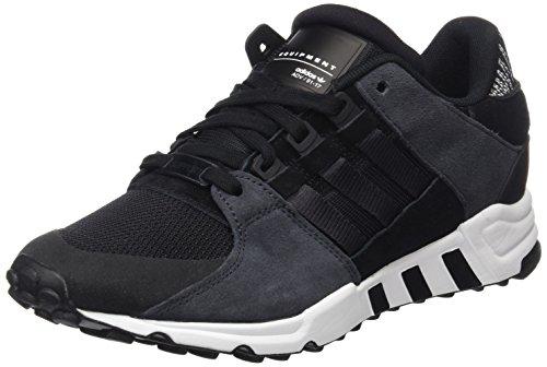 Adidas Herren EQT Support RF Sneaker, schwarz/weiß, 45 1/3 EU