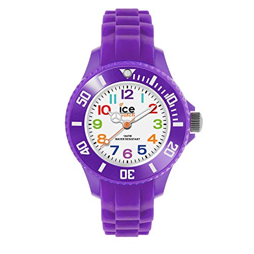 Ice-Watch Kinder-Armbanduhr Ice-Mini lila MN.PE.M.S.12
