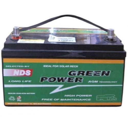 Batería AGM NDS Green Power 12V 100Ah B C20 para caravanas uso para servicios