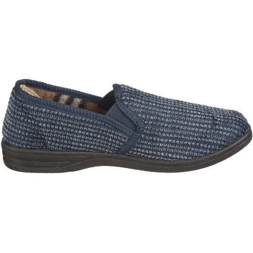 Lotus Bevis 7114, Chaussons homme Bleu Marine