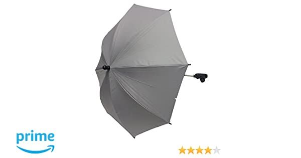 Baby Parasol Compatible with Joie Aire Plus Twin Brisk Chrome Kixx Red