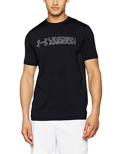 Under Armour, Ua Raid Graphic Ss, Maglietta A Maniche Corte, Uomo, Nero (Black/Graphite 001), M