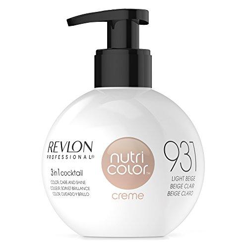 REVLON PROFESSIONAL Nutri Color Crème, Nr. 931 Light Beige,1er Pack (1 x 270 ml) - Revlon Creme