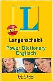 Langenscheidt power dictionary englisch deutsch deutsch for Dictionary englisch deutsch