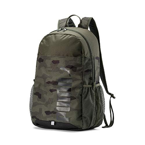 Puma Unisex- Erwachsene Style Backpack Rucksack, Forest Night-Camo AOP, OSFA