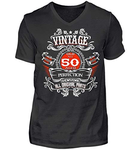 (Legenden Geboren 1968 Vintage 50 Jahre Geburtstag Mann Geschenk - Herren V-Neck Shirt)