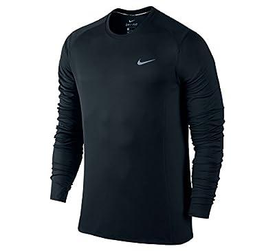 Nike Herren Dri-Fit Miler Langarm Shirt