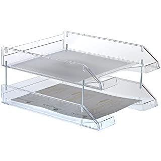 Archivo 2000 109177 - Transparent stackable document tray