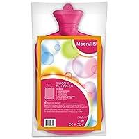 Medrull Rosa Wärmflasche 2 Liter SILIKON Geruchsfrei Hot or Cold Water Bottle preisvergleich bei billige-tabletten.eu