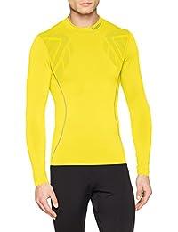 Luanvi Sahara Camiseta térmica, Hombre, Amarillo, XXS