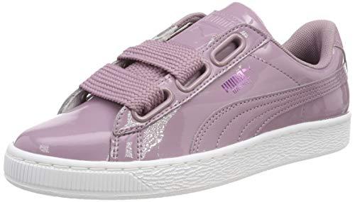 60f98ea3f Puma Basket Heart Patent Wn's, Zapatillas para Mujer, Morado Elderberry, ...