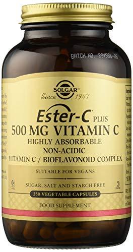 Solgar Ester-C Plus Vitamina C 500 mg Cápsulas vegetales - Envase de 250