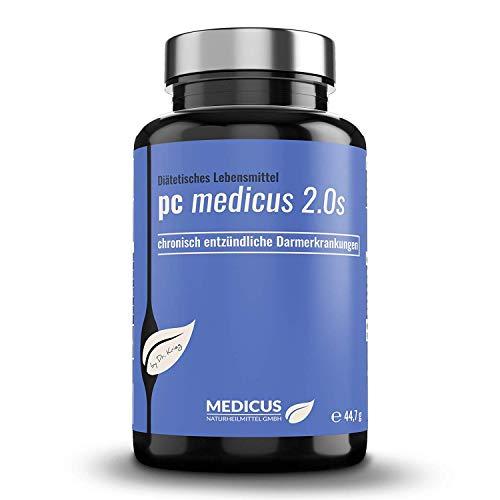 PC medicus 2.0S mit 83{38285a478d98f8037a4c2582e1c7ced6c856dcc859a12328545b15bf29503964} Phosphatidylcholin (Soja-Lecithin), bei chronisch entzündlichen Darmerkrankungen wie Colitis Ulcerosa und Leaky Gut Syndrom, 90 Kapseln