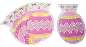 DYNASTRIB Pascua - 6 bolsas para caramelos, multicolor, 23 x 15 cm