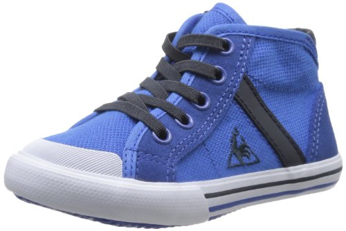Le Coq Sportif Saint Malo Mid Cotton Pique Inf, Baskets mode mixte enfant Bleu (Olympian Blue)