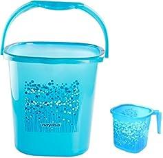 Nayasa Funk 18 Ltr Bucket & Matching Mug -Blue