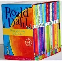 Roald Dahl 15 Book Box Set (Slipcase) Includes Matilda, Witches, The Twits, Fantastic Mr Fox, Charlie & the Chocolate Factory, Georges Marvellous Medicine, The BFG, Danny the Champion of the World.... by Dahl, Roald (March 1, 2010) Paperback