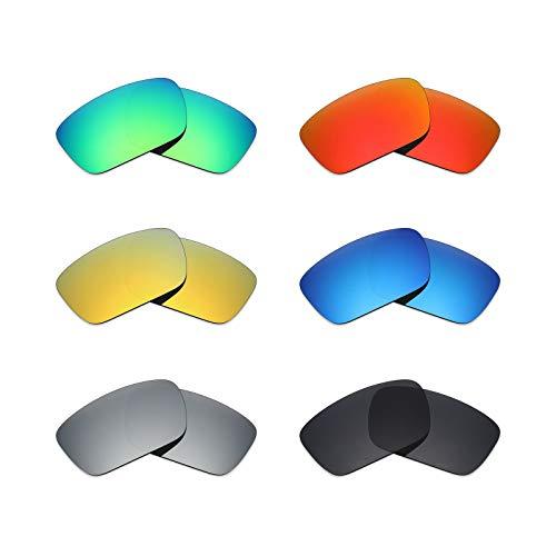 MRY 6Paar Polarisierte Ersatz Gläser für Oakley Fuel Cell Sonnenbrille