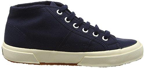 Superga Unisex Kinder 2754JCOT Classic Hohe Sneakers Blau (Navy)
