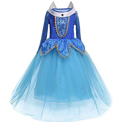 Wünsche 3 Belle Kostüm - Prinzessinnen-Kleid für Mädchen im Alter von 4-9 Jahren, toll für Kostümpartys 4Jahre 3#