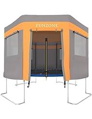 Ultrasport Tente de trampoline, Orange-Gris