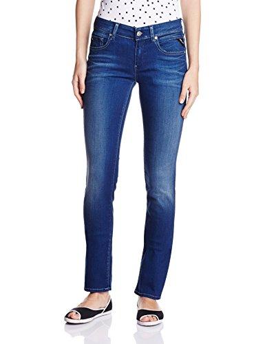 Replay Damen Straight Leg Jeanshose Vicki, Gr. W29/L32 (Herstellergröße: 29), Blau (Blue Denim 9)