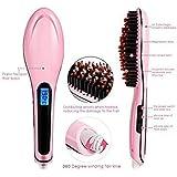 Swarim 1 Electric LCD Hair Straightening Brush Comb Machine