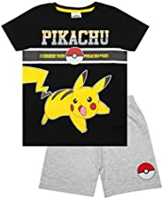 Pokèmon Pikachu eléctrico Pokeball #025 de Boy Short Pijamas