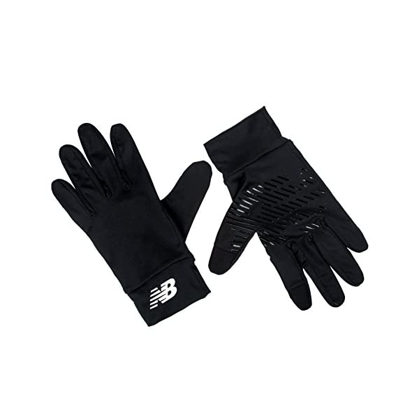 New Balance Everyday Gloves Guantes, Mujer, Negro, S/M