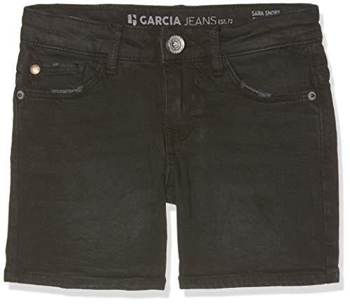 Garcia Kids Mädchen Sara Shorts, Schwarz (Dark Used 3022), 146 - Mädchen Jeansshorts