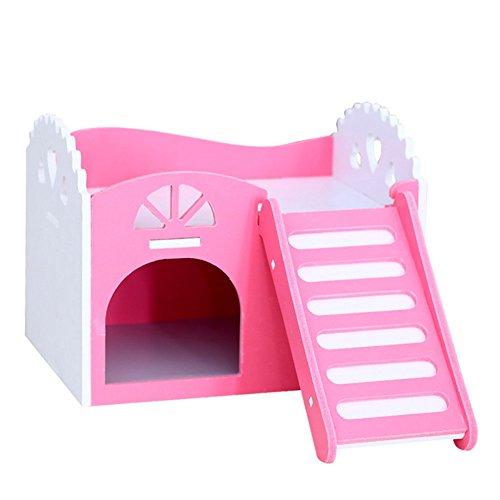 La Cabina Pet Hamster Souris Rat Maison Jouet en Bois