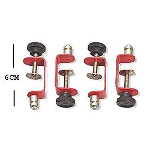 Isomars Metal Clamps - Set of 4