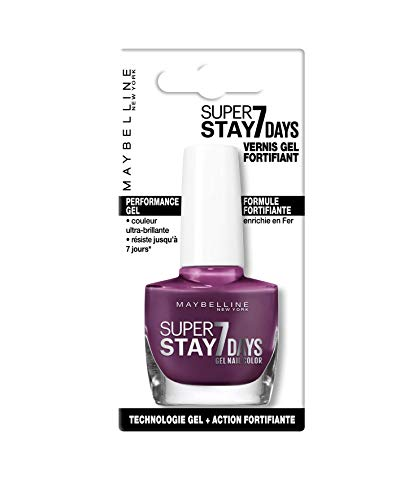 Maybelline Super Stay 7 Days 275 Social Berry Violeta