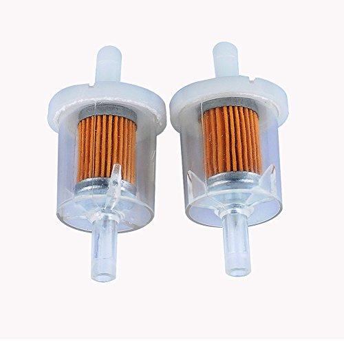 HiPa (2Stück) Kraftstoff-Filter für Honda Honda GXV160GX160GX270GX390Motor Rasenmäher