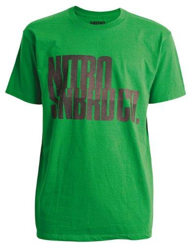 Nitro Snowboards Herren T-Shirt INDUSTRIAL STRENGTH SS, kelly, L, 1111-872798 (Snowboard T-shirts)